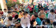 Peringati Hari Santri, Siswa SDN 4 Kebaman Ngaji Bersama