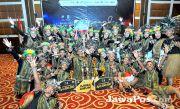 Jurus Maut Tim Smanta Menjuarai Kompetisi Paduan Suara Piala Kapolres