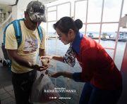 Siaga Korona, Penumpang Kapal Dapat Hand Sanitizer