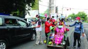 BLK Banyuwangi Bagikan Masker Gratis
