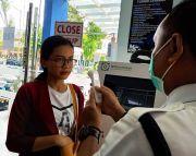 Siaga Corona, Nasabah BPJS Kesehatan dicek Thermal Gun