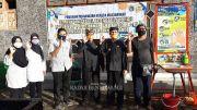 Poliwangi Bantu Smart Wastafel di Pasar Dadapan