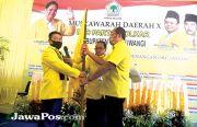 Aklamasi, Ruliyono Pecah Rekor Ketua DPD Golkar