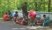 Jaga Stamina, Latih Fisik di Jalan Hutan Karetan