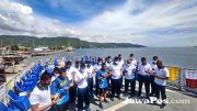 Lanal dan KRI Tongkol Doakan Korban Sriwijaya Air