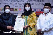 Ipuk-Sugirah Dilantik di Gedung Grahadi Surabaya