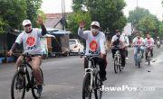 PKS Sapa Masyarakat Situbondo melalui Gowes