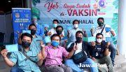 Jurnalis Radar Banyuwangi Awali Vaksinasi Covid-19 untuk Wartawan