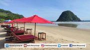 Pengunjung Wisata Pulau Merah Melorot Tajam