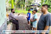 Polisi Edukasi Anak-anak Bermain Mercon