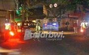 Penyekatan PPKM Darurat Dipusatkan di Jalan Gajah Mada Genteng