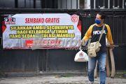 Sembako Gratis untuk Warga yang Jalani Isoman