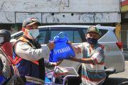 Yamaha Jatim Dukung Giat Patroli PPKM Polrestabes Surabaya