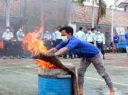 Biar Tangerang Tidak Terulang, Napi Dilatih Padamkan Api