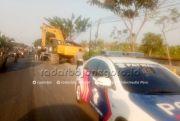 Awas, Kemacetan di Jalan Lamongan-Babat Seminggu ke Depan