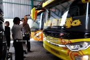 Periksa Kelaikan Bus Angkut CJH