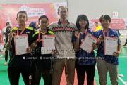 Raih Dua Medali Perunggu di Makassar