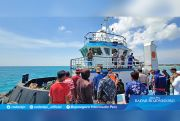 Kapal Tenggelam, 12 Nelayan Lamongan Dievakuasi ke Masalembu