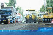 Rusak Parah, Jalan Nasional Kembali Dibongkar