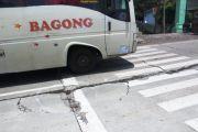 Cor Hancur dan Rangka Besi Mencuat, Jalan Nasional Mengkhawatirkan