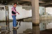 Baru Selesai Dibangun, Basement Puskesmas Peterongan Tergenang Air