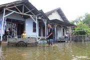 Tanggul Jebol, Dua Desa di Kecamatan Diwek dan Perak Terendam