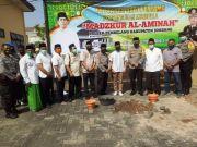 H Achmad Rifai Letakkan Batu Pertama Proyek Musala Mapolsek Tembelang