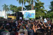 Penyanyi Dangdut hingga Pengusaha Sound Unjuk Rasa di Pendopo Jombang