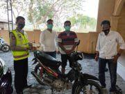 Curi Motor Tetangga Sendiri, Residivis Asal Megaluh Dibekuk Polisi