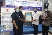 UTD PMI Jombang Raih Sertifikat ISO Quality Management System