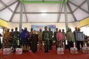 Bupati Hj Mundjidah Wahab Hadiri Baksos HUT TNI ke-75 di Tembelang