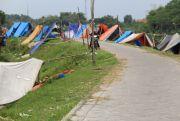 Banjir Surut, Pengungsian Ditinggalkan