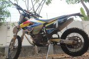 Husqvarna 350cc, Siap Tempur