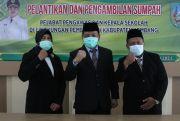 Bupati Jombang Lantik Dua Kepala SMP Negeri