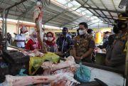 Pastikan Harga Sembako Stabil Jelang Lebaran, Bupati Sidak Pasar