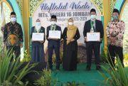 MTsN 16 Jombang Gelar Haflatul Wada' , Ada Siswa Hafal 5 Juz