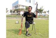 Mohamad Yengyie Berjuang Meraih Medali dengan Satu Tangan dan Kaki