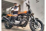 Harley Davidson XR1200: Pasang Turbo Lebih Garang