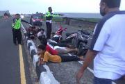 Balap Liar di Jombang, 20 Sepeda Motor Diamankan
