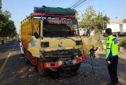 Kecelakaan Beruntun di Jombang, Empat Kendaraan Ringsek