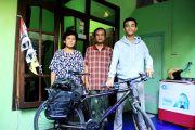 Kisah Achmad Muchlisyin, 6 Hari Mudik Gowes Jakarta-Kediri