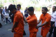 Polisi Pisahkan Ruang Tahanan Tujuh Tersangka