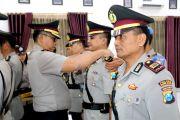 Empat Perwira Polresta Kediri Bergeser