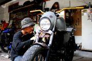 Rizky Maulana, Penghobi Motor Custom dari Kediri