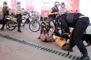 Siaga! Ratusan Personel dan K9 untuk Pengamanan Pelantikan Presiden
