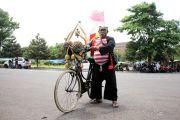Budiantoro, Penghobi Sepeda Tua yang Tampil Beda