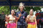 Catur Wijaya, TNI Asal Kediri, Lestarikan Jaranan di Bumi Cendrawasih