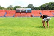 Pembenahan Stadion Brawijaya Kediri: Akhir Bulan Rumput Mulus