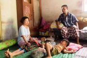 Trauma, Anak Korban Rumah Ambruk di Kapas Ketakutan dan Demam