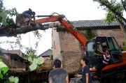 Puting Beliung di Kediri: Kepala Bocor Tak Terasa karena Panik